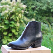 Ботинки на маленьком каблуке Т7035