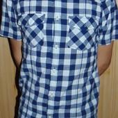 Фирменная стильная брендовая  рубашка шведка Easy.