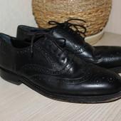 42-43 28,5см Van Lier Кожаные броги, туфли