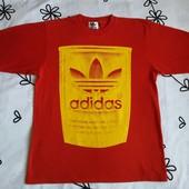 Крутая красная футболка Adidas, размер S