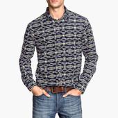 Стильная мужская рубашка Н&М р. S