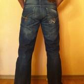 Строгие синие джинсы Firetrap (размер 30/30)