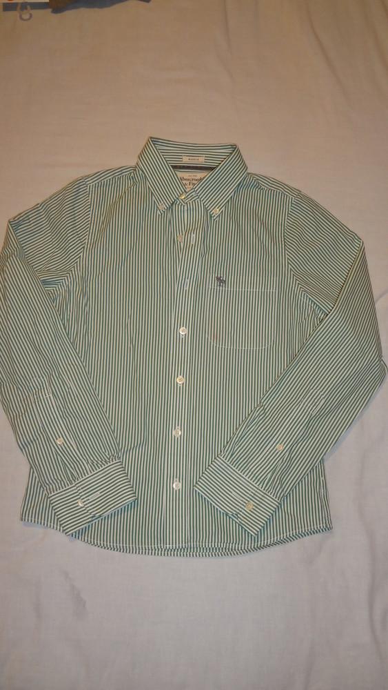 Продам мужскую или подростковую рубашку abercrombie&fitch размер s фото №1