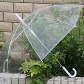 Зонт подростковый прозрачный