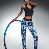 BB Chalise  яркие красочные штаны для спорта фитнеса йоги супер качество смелая модель