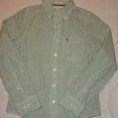 продам мужскую или подростковую рубашку Abercrombie&Fitch размер S