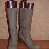 кожаные сапоги Кларкс 24,5 см