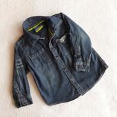 Джинсовую рубашку Topolino на 1,5-2 года