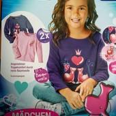 Качественные кофточки на девочек немецкой фирмы Lupilu .