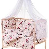 Детское постельное белье  Микки Маус 8 в 1