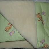 Одеяло на меху с подушкой