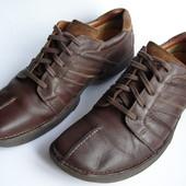 Кожаные туфли Clarks, р. 46 – 30 см.