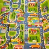 Коврик детский дорога бебипол аналог развивающий игровой
