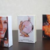 Миниатюры знаменитых парфюмов (Lancome, Chanel, Dior), одна на выбор (18 мл)
