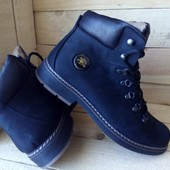 Ботинки зима КОЖА(нубук) мужские