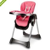 Стульчик для кормления Bambi M 3216-8, розовый