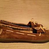 Для любителей обуви Vans -  замшевые топсайдеры  Original Surf Siders 41 р.