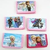 Красочный кошелек с любимыми героями. Frozen, Agry birds и другие.