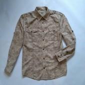 Рубашка с пагонами Denim (Л)