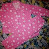 Пижама байковая на рост 158-164см,р.S-M.