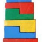 Пирамидка-головоломка 14 эл., Komarovtoys Артикул: А 334