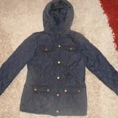 Стильная Куртка F&F на тонком синтепоне 152 см, 11-12 лет, Италия
