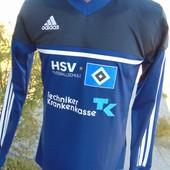 Фирменная спортивная кофта реглан оригинал Adidas.Ф.к Гамбург.