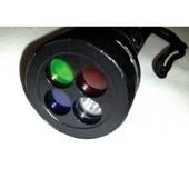 Фонарь тактический Police BL-9842 (четыре светофильтра)