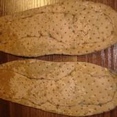 Кожаные ортопедические стельки в обувь на 16,5см 26-27