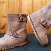 Кожаные ортопедические ботинки Clic!
