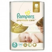 Подгузники Pampers Premium Care 5 (11-18 кг), 44 шт.