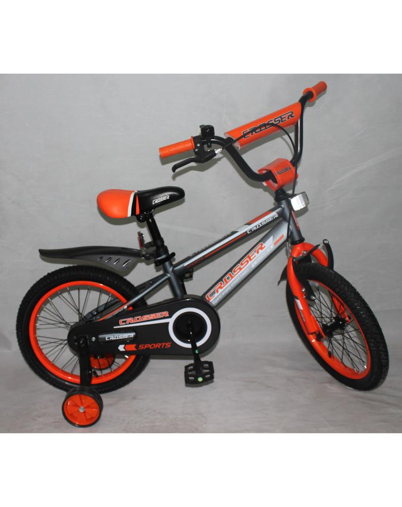 Кроссер Спорт 12,14, 16, 18, 20 дюймов велосипед детский двухколесный Crosser Sports фото №1