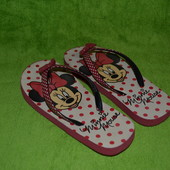 Вьетнамки Minnie Mouse 32-33 р.,21.5 см