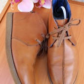 Soviet 41 26,5см Кожаные мужские ботинки