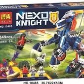 конструктор bela серия nexo knight 10485 ланс и механический конь (Аналог Lego Nexo Knights 70312)