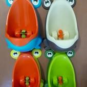 Писсуар детский лягушка есть новые цвета
