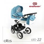 Коляска универсальная 2в1 Adbor Ottis 22