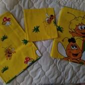 Новый комплект детского постельного белья