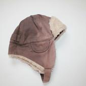 Теплая демисезонная шапочка