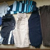 Пакет из 9 брендовых вещей для парня 8-9 лет