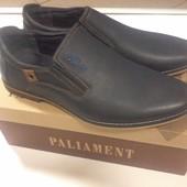 Новые мужские осенние туфли.