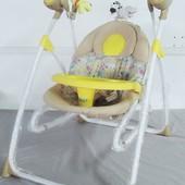 детская колыбель-качели 3в1 BT-SC-0005  с пультом