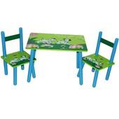 Столик Baby Tilly B07008(2802-25) с двумя стульчиками Далматинцы