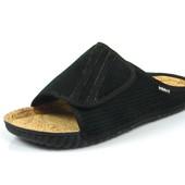 100-FM-5L-014 N , тапочки мужские домашние Inblu Инблу, цвет - черный, размеры 40-46