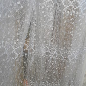 Тюль гардина органза ( Невеста )