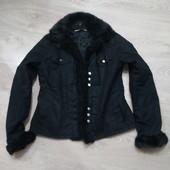 Куртка с мехом -200 грн