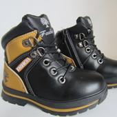 Распродажа стильные ботиночки на шерсти 27  р на 16 см