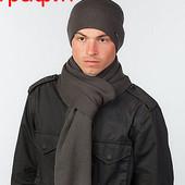 Комплект шапка и шарф и для мужчин Classic - 5 цветов