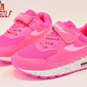 Кроссовки детские копия Air max 31-36р розовые