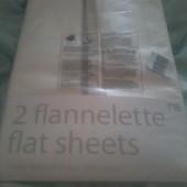 Упаковка 2 шт.фланевые пеленки Mathercare